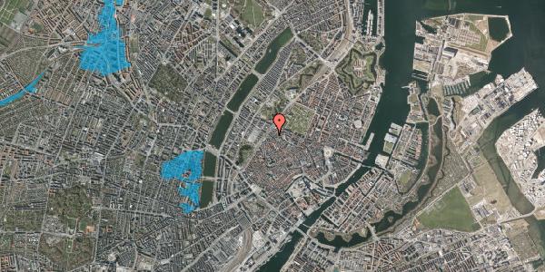 Oversvømmelsesrisiko fra vandløb på Rosenborggade 1A, 2. , 1130 København K