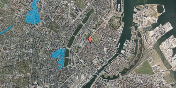Oversvømmelsesrisiko fra vandløb på Rosenborggade 2, 4. tv, 1130 København K