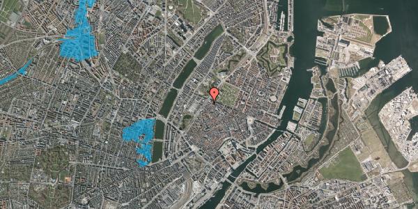 Oversvømmelsesrisiko fra vandløb på Rosenborggade 5A, 2. , 1130 København K