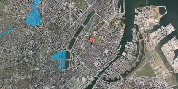 Oversvømmelsesrisiko fra vandløb på Rosenborggade 5A, 3. , 1130 København K