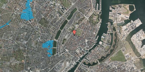 Oversvømmelsesrisiko fra vandløb på Rosenborggade 8, st. th, 1130 København K
