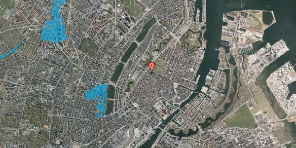 Oversvømmelsesrisiko fra vandløb på Rosenborggade 12, st. th, 1130 København K