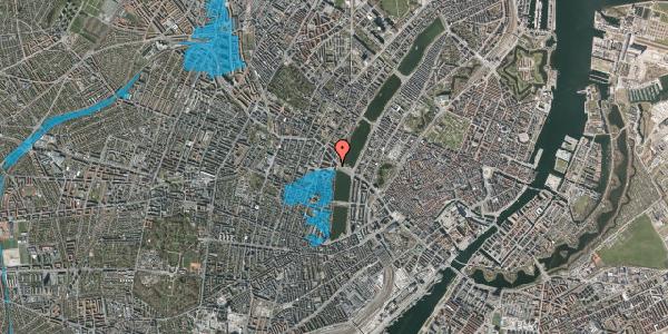 Oversvømmelsesrisiko fra vandløb på Rosenørns Allé 4, 1. tv, 1634 København V