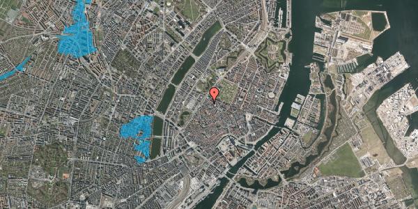 Oversvømmelsesrisiko fra vandløb på Sankt Gertruds Stræde 3, 1. , 1129 København K