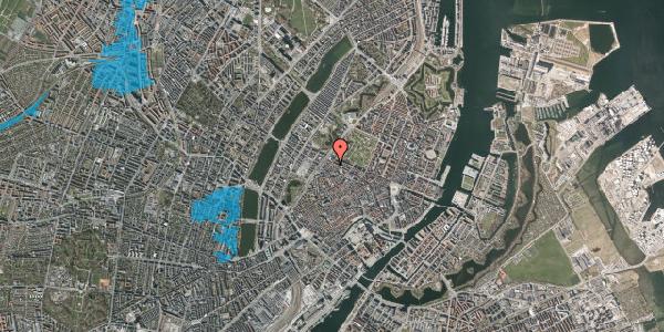 Oversvømmelsesrisiko fra vandløb på Sankt Gertruds Stræde 10, kl. , 1129 København K