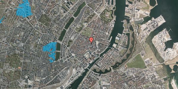 Oversvømmelsesrisiko fra vandløb på Silkegade 11, 2. th, 1113 København K