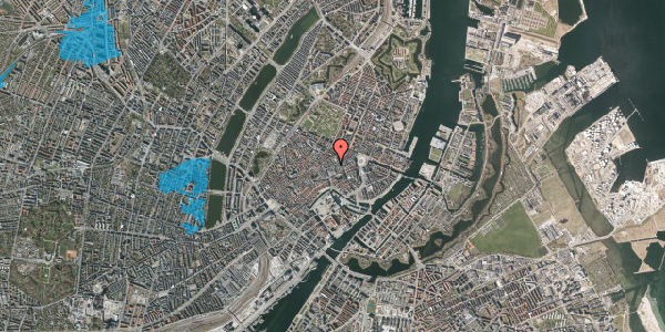 Oversvømmelsesrisiko fra vandløb på Silkegade 15, 2. mf, 1113 København K