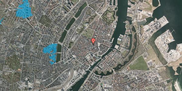 Oversvømmelsesrisiko fra vandløb på Silkegade 23, st. , 1113 København K
