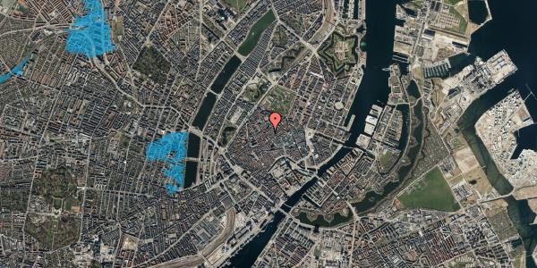 Oversvømmelsesrisiko fra vandløb på Skindergade 3, 3. , 1159 København K