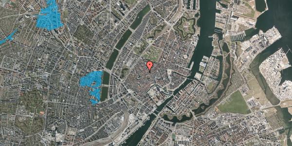 Oversvømmelsesrisiko fra vandløb på Skindergade 7, 3. , 1159 København K