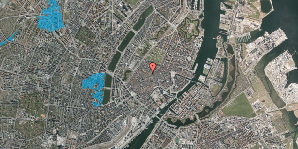 Oversvømmelsesrisiko fra vandløb på Skindergade 8, st. tv, 1159 København K