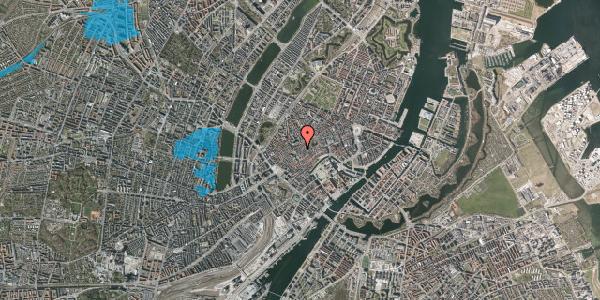 Oversvømmelsesrisiko fra vandløb på Skoubogade 1, st. tv, 1158 København K