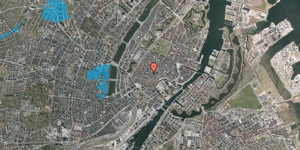 Oversvømmelsesrisiko fra vandløb på Skoubogade 2, 1. , 1158 København K