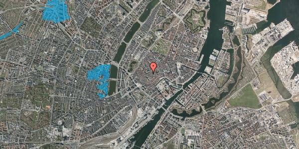 Oversvømmelsesrisiko fra vandløb på Skoubogade 5, kl. 1, 1158 København K