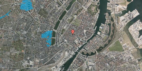 Oversvømmelsesrisiko fra vandløb på Skoubogade 5, kl. 2, 1158 København K