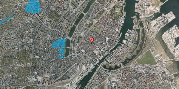 Oversvømmelsesrisiko fra vandløb på Skoubogade 5, st. , 1158 København K