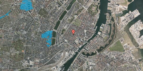 Oversvømmelsesrisiko fra vandløb på Skoubogade 6, 1. , 1158 København K