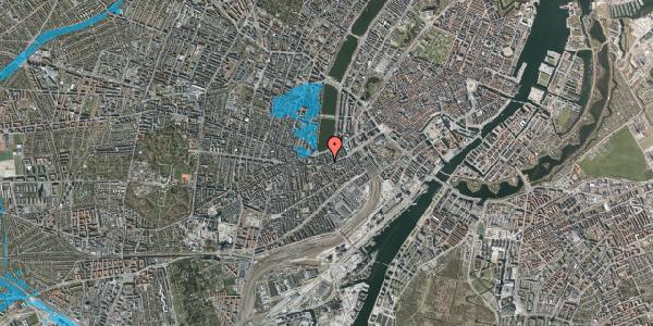 Oversvømmelsesrisiko fra vandløb på Stenosgade 1, 3. , 1616 København V