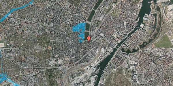 Oversvømmelsesrisiko fra vandløb på Stenosgade 3, 2. tv, 1616 København V