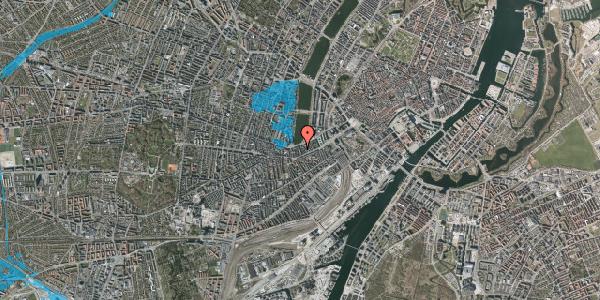 Oversvømmelsesrisiko fra vandløb på Stenosgade 7, 3. tv, 1616 København V