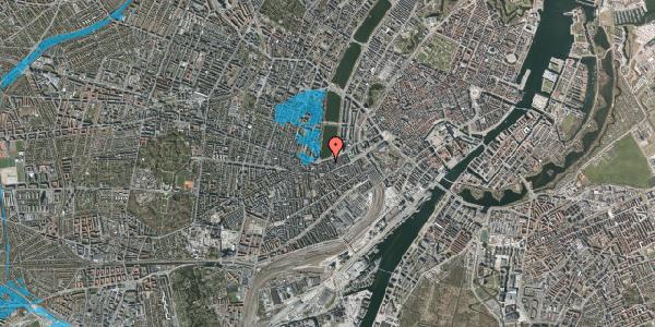 Oversvømmelsesrisiko fra vandløb på Stenosgade 9, 4. th, 1616 København V