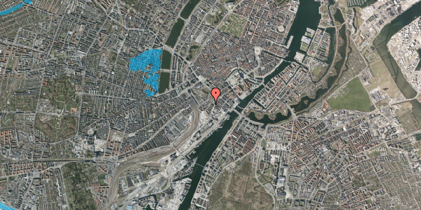 Oversvømmelsesrisiko fra vandløb på Stoltenbergsgade 1, 2. tv, 1576 København V