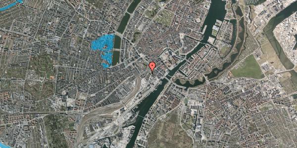 Oversvømmelsesrisiko fra vandløb på Stoltenbergsgade 1, 4. tv, 1576 København V