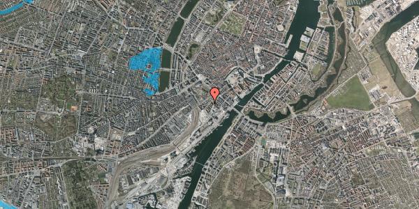 Oversvømmelsesrisiko fra vandløb på Stoltenbergsgade 3, 2. th, 1576 København V
