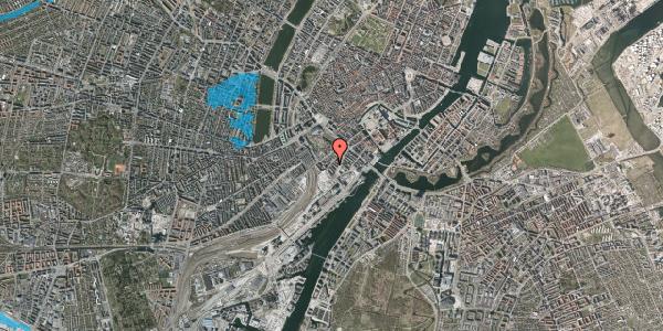 Oversvømmelsesrisiko fra vandløb på Stoltenbergsgade 5, 3. tv, 1576 København V