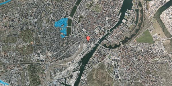 Oversvømmelsesrisiko fra vandløb på Stoltenbergsgade 9, kl. 3, 1576 København V