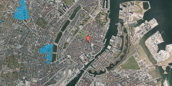Oversvømmelsesrisiko fra vandløb på Store Regnegade 1, st. 3, 1110 København K
