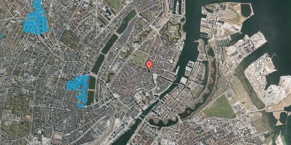 Oversvømmelsesrisiko fra vandløb på Store Regnegade 5, 5. tv, 1110 København K