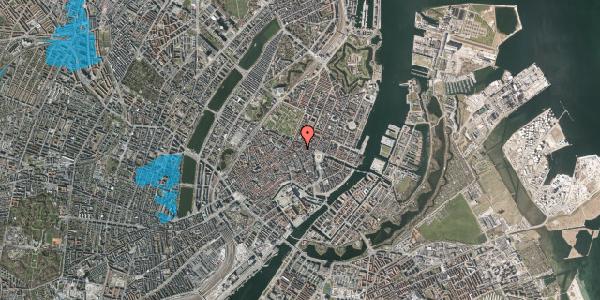 Oversvømmelsesrisiko fra vandløb på Store Regnegade 12, 4. , 1110 København K