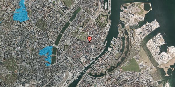 Oversvømmelsesrisiko fra vandløb på Store Regnegade 19A, 1. 1, 1110 København K