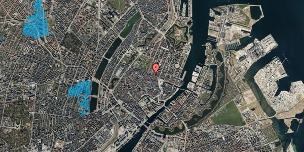 Oversvømmelsesrisiko fra vandløb på Store Regnegade 19A, 2. mf, 1110 København K