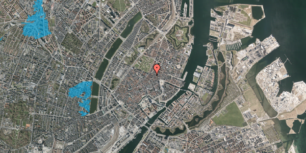 Oversvømmelsesrisiko fra vandløb på Store Regnegade 19A, 3. mf, 1110 København K