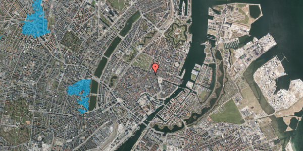 Oversvømmelsesrisiko fra vandløb på Store Regnegade 24, kl. , 1110 København K