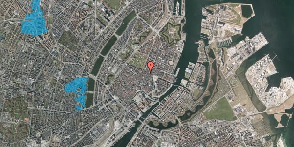 Oversvømmelsesrisiko fra vandløb på Store Regnegade 26A, 4. tv, 1110 København K