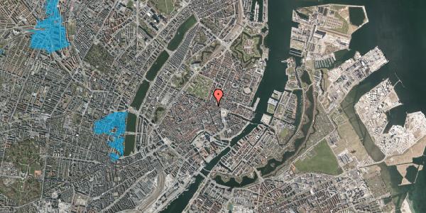 Oversvømmelsesrisiko fra vandløb på Store Regnegade 26C, 2. th, 1110 København K