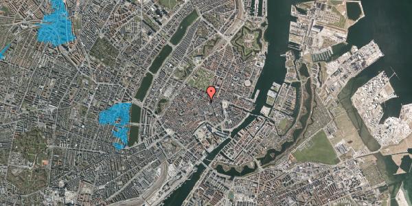 Oversvømmelsesrisiko fra vandløb på Sværtegade 1, 1118 København K