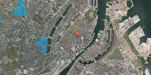 Oversvømmelsesrisiko fra vandløb på Sværtegade 3, st. , 1118 København K