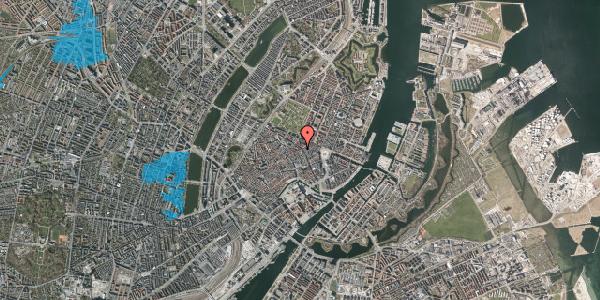 Oversvømmelsesrisiko fra vandløb på Sværtegade 7, st. , 1118 København K