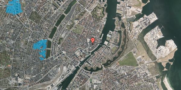 Oversvømmelsesrisiko fra vandløb på Tordenskjoldsgade 11, 3. tv, 1055 København K