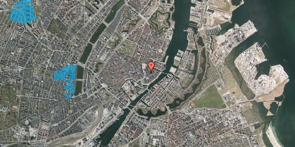 Oversvømmelsesrisiko fra vandløb på Tordenskjoldsgade 11, 4. tv, 1055 København K