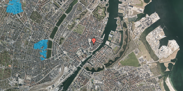 Oversvømmelsesrisiko fra vandløb på Tordenskjoldsgade 12, 4. , 1055 København K