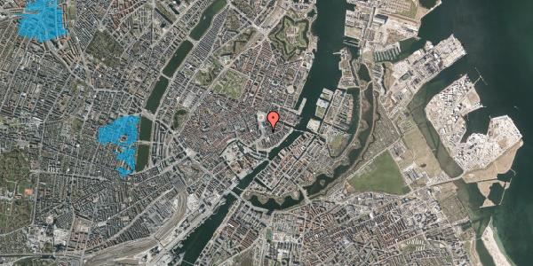 Oversvømmelsesrisiko fra vandløb på Tordenskjoldsgade 14A, 1055 København K