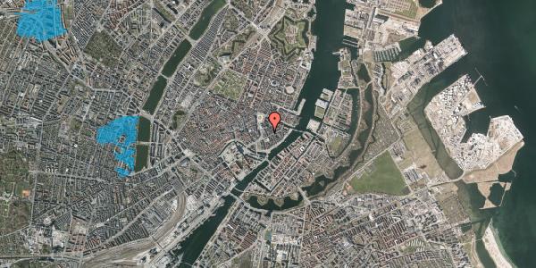 Oversvømmelsesrisiko fra vandløb på Tordenskjoldsgade 17, st. , 1055 København K