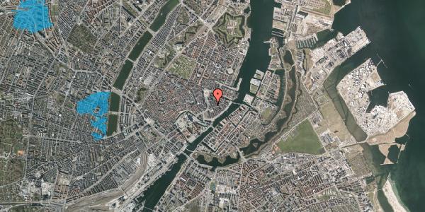 Oversvømmelsesrisiko fra vandløb på Tordenskjoldsgade 17, 3. , 1055 København K