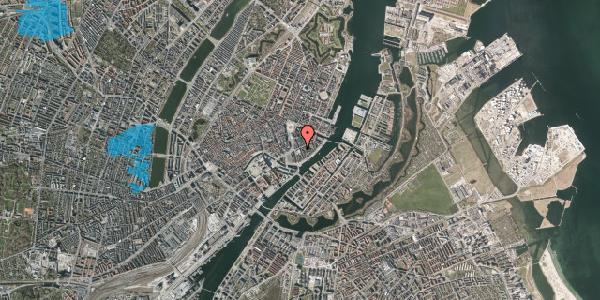 Oversvømmelsesrisiko fra vandløb på Tordenskjoldsgade 20, 2. , 1055 København K