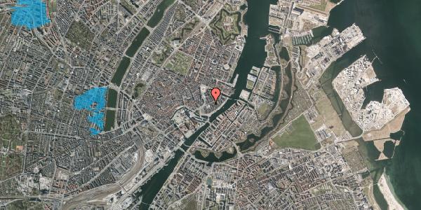 Oversvømmelsesrisiko fra vandløb på Tordenskjoldsgade 21, 3. th, 1055 København K